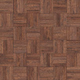 Seamless wood parquet texture chess brown. For render interior or your background Royalty Free Stock Photography