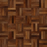 Seamless wood parquet texture chess brown. For render interior or your background Royalty Free Stock Image
