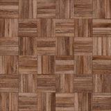 Seamless wood parquet texture chess brown. For render interior or your background Stock Photography