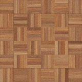 Seamless wood parquet texture chess brown. For render interior or your background Stock Images