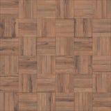 Seamless wood parquet texture chess light brown. Seamless wood parquet texture for interior or background stock photography