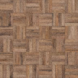 Seamless wood parquet texture chess light brown. For render interior or your background Stock Image