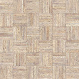 Seamless wood parquet texture chess neutral. For render interior or your background Stock Photography