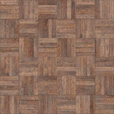 Seamless wood parquet texture chess neutral. For render interior or your background Stock Photos