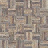 Seamless wood parquet texture chess neutral. For render interior or your background Royalty Free Stock Photos