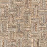 Seamless wood parquet texture chess neutral. For render interior or your background Royalty Free Stock Images