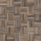 Seamless wood parquet texture chess neutral. For render interior or your background Royalty Free Stock Photography