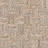 Seamless wood parquet texture chess neutral. For render interior or your background Royalty Free Stock Image