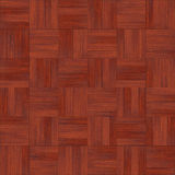 Seamless wood parquet texture chess red. For render interior or your background Stock Photos