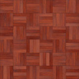 Seamless wood parquet texture chess red. For render interior or your background Stock Images