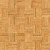 Seamless wood parquet texture chess sand color. For render interior or your background Royalty Free Stock Images