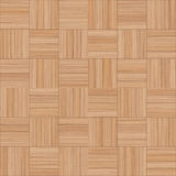 Seamless wood parquet texture chess sand color. For render interior or your background Stock Photography