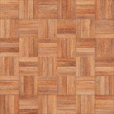 Seamless wood parquet texture chess sand color. For render interior or your background Royalty Free Stock Photos