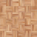 Seamless wood parquet texture chess sand color. For render interior or your background Stock Images
