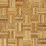 Seamless wood parquet texture chess sand color Royalty Free Stock Photography
