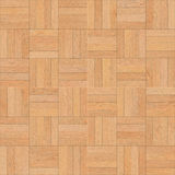 Seamless wood parquet texture chess sand color Stock Image