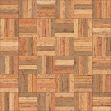 Seamless wood parquet texture chess sand color Royalty Free Stock Photo