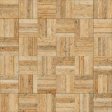 Seamless wood parquet texture chess sand color Stock Images