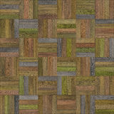 Seamless wood parquet texture chess various. For render interior or your background Stock Image