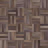 Seamless wood parquet texture chess various. For render interior or your background Royalty Free Stock Photography