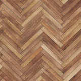 Seamless wood parquet texture herringbone brown. Small pattern of seamless wood parquet texture hexagon brown for render interior or your background Stock Images