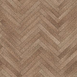 Seamless wood parquet texture herringbone brown. Small pattern of seamless wood parquet texture hexagon brown for render interior or your background Royalty Free Stock Photos