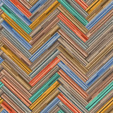 Seamless wood parquet texture herringbone clip-art Royalty Free Stock Image