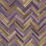 Seamless wood parquet texture herringbone clip-art Stock Image