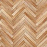 Seamless wood parquet texture herringbone light brown Royalty Free Stock Photo