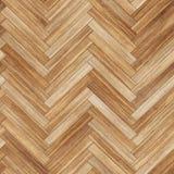 Seamless wood parquet texture herringbone light brown Royalty Free Stock Photos