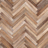 Seamless wood parquet texture herringbone light brown Stock Photos