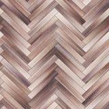 Seamless wood parquet texture herringbone neutral Royalty Free Stock Photos