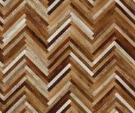 Seamless wood parquet texture herringbone various. Brown seamless wood parquet texture, various planks royalty free stock photo