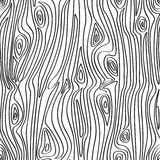 Seamless Wood Pattern Stock Photography