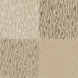 Seamless wood texture pattern. In four variations Royalty Free Stock Photography