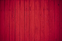 Red wooden boards background Stock Image