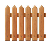 Seamless wooden fence Stock Photo