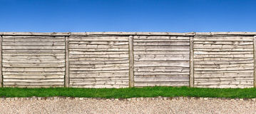 Seamless wooden fence Royalty Free Stock Images