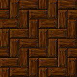 Seamless wooden panel door texture with nails Royalty Free Stock Photos