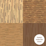 Seamless wooden parquet Royalty Free Stock Photography