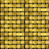 Seamless wooden pattern with intertwined structure resembling basket Stock Photo