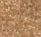 Seamless wooden pattern Stock Images