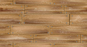 Seamless wooden planks background Royalty Free Stock Photography
