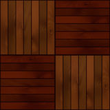 Seamless  wooden texture Royalty Free Stock Image