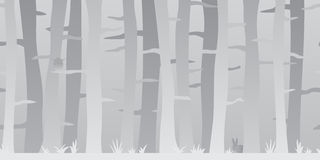 Seamless Woods Picture Royalty Free Stock Images