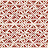 Seamless worn out aboriginal triangle geometry pattern background. Seamless background image of vintage worn out red triangle aboriginal pattern Stock Photo