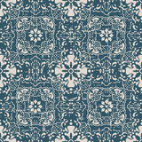 Seamless worn out antique background 179_flower kaleidoscope geometry Stock Photography