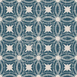 Seamless worn out antique background 181_round cross geometry Stock Images