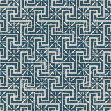 Seamless worn out antique background 175_spiral cross line geometry Stock Images