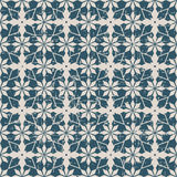 Seamless worn out antique background 172_star flower kaleidoscope Royalty Free Stock Photo